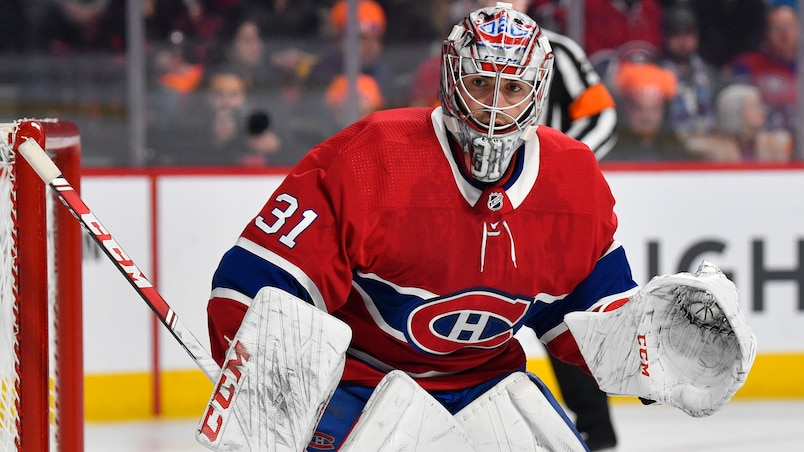Carey Price face aux Blue Jackets