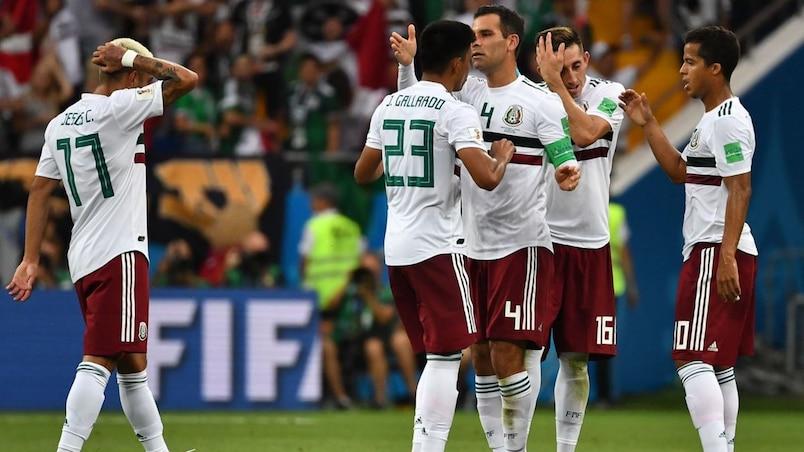Coupe du monde: autre victoire pour le Mexique