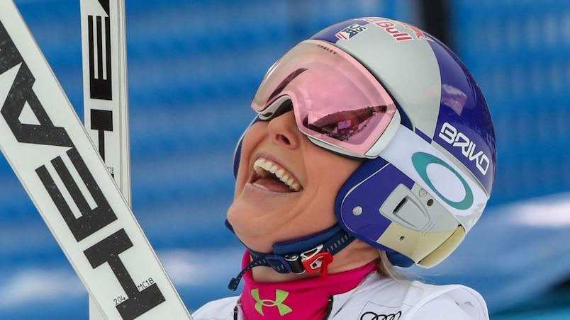 Lindsey Vonn remporte la descente de Garmisch-Partenkirchen