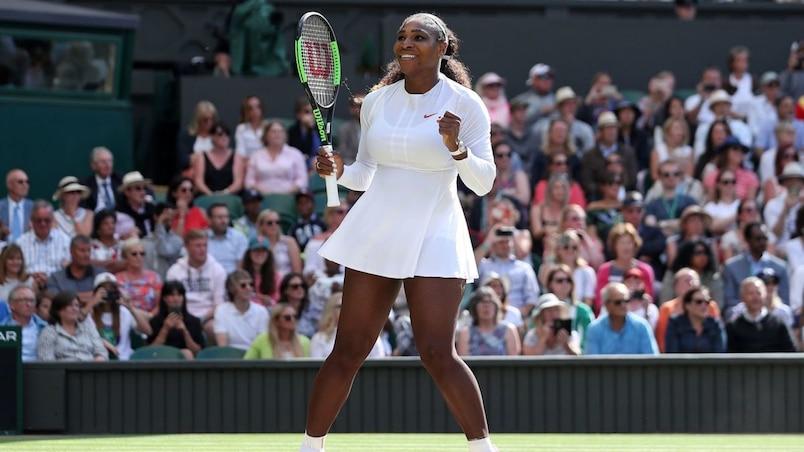 Wimbledon: une chance que Serena est là...
