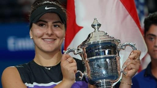 Bianca Andreescu est l'athlète de l'année de l'Agence QMI