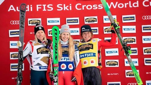 Ski cross: une Québécoise en bronze