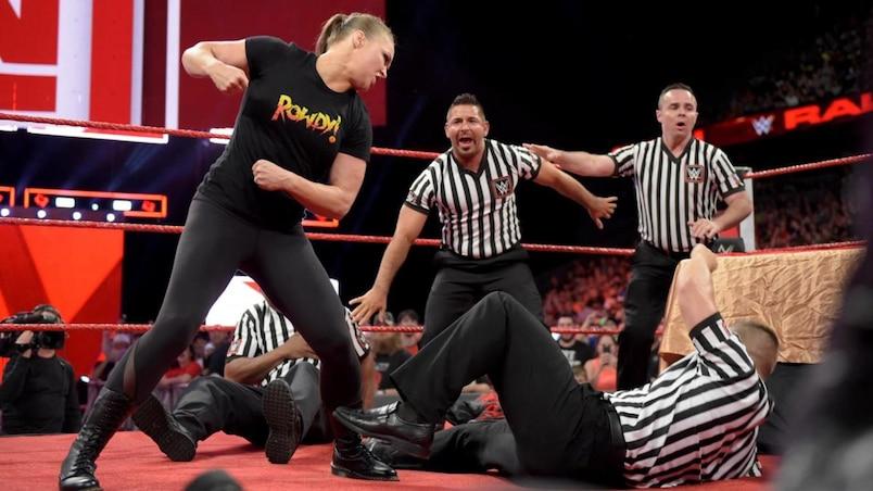 Cette semaine dans l'univers de la WWE: un point tournant dans la carrière de Ronda Rousey