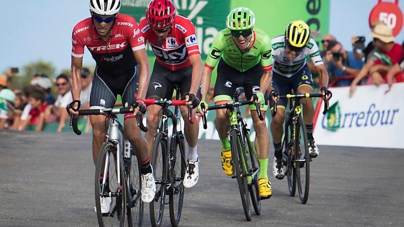 Tour d'Espagne : Michael Woods conserve ses acquis