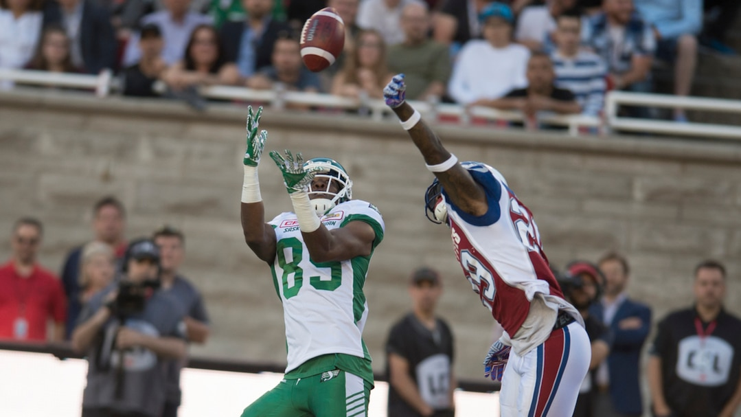 SPO-FOOTBALL-SASKATCHEWAN-MONTREAL