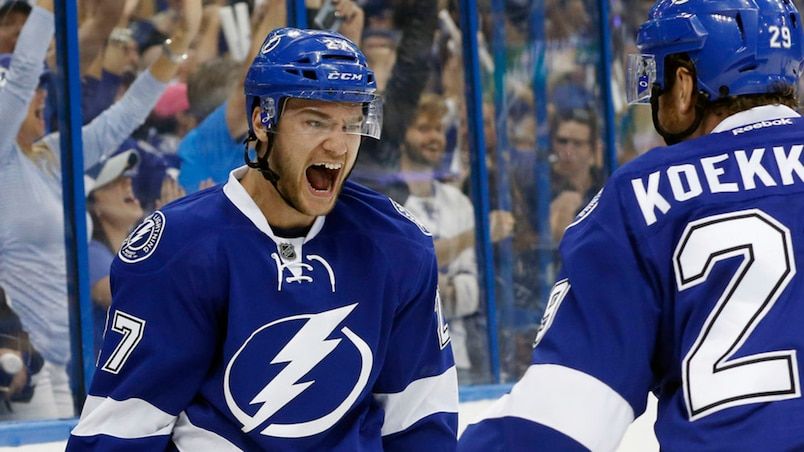 NHL: Stanley Cup Playoffs-New York Islanders at Tampa Bay Lightning