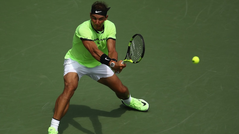 Nadal et Raonic joueront mardi