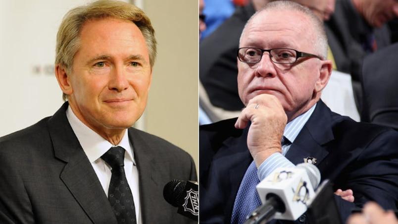 Rutherford et Johnston demeureraient avec les Penguins la saison prochaine