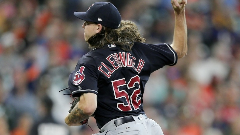 Mike Clevinger muselle les Astros