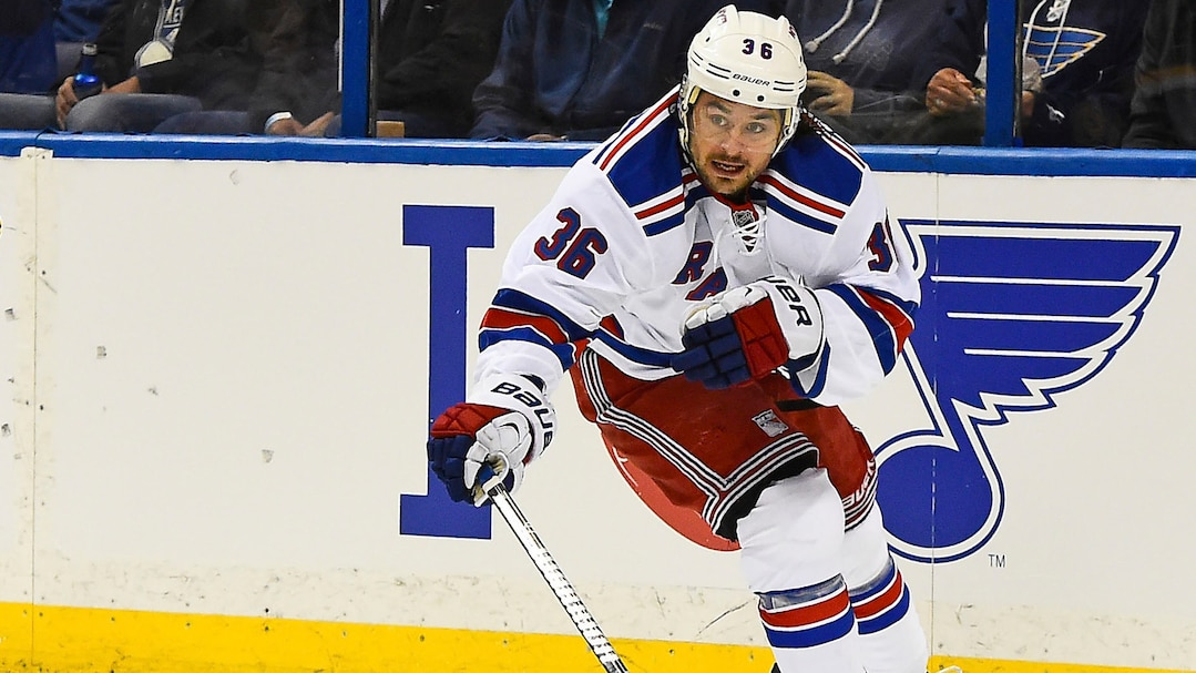 NHL: New York Rangers at St. Louis Blues