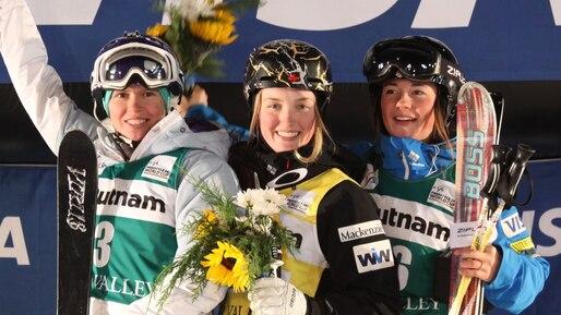 Photo gracieuseté de l'Association canadienne de ski acrobatique