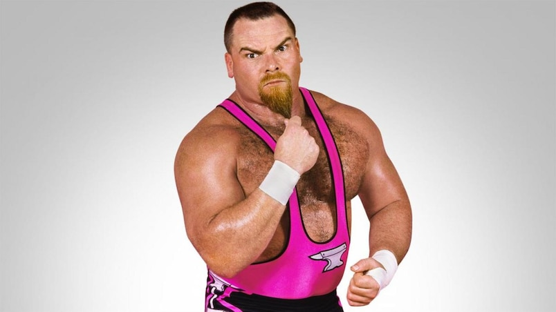 Jim «The Anvil» Neidhart, l'homme fort de la Hart Foundation