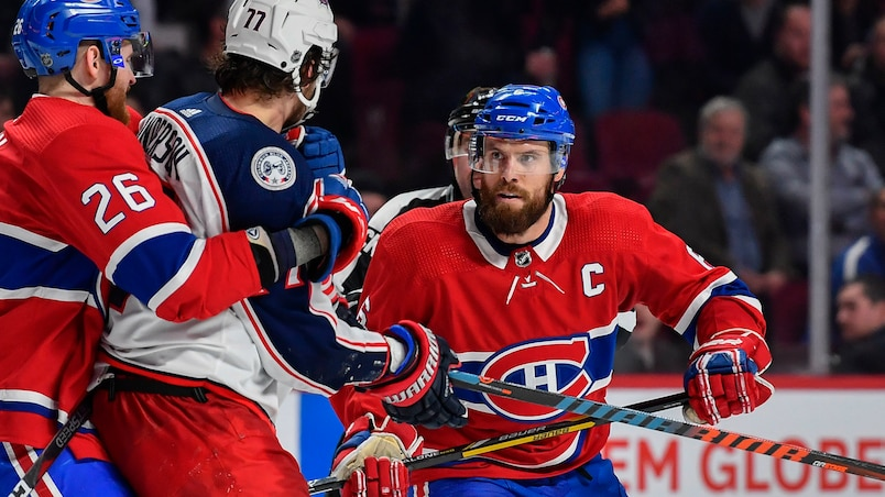 Blue Jackets c. Canadiens