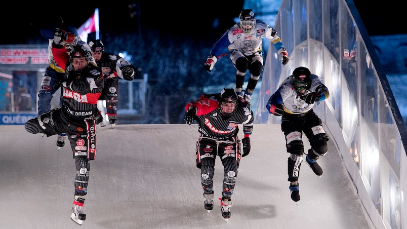 Le Red Bull Crashed Ice à l'automne?