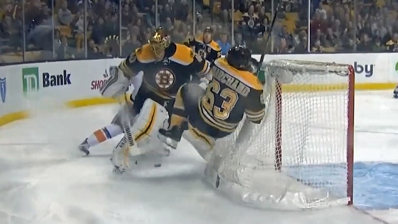 Rask et Marchand se ridiculisent