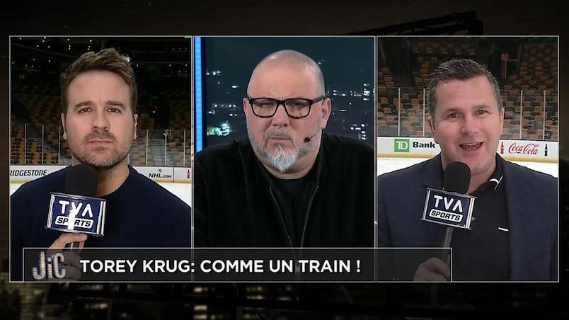 Mise en échec de Torey Krug : légale ou pas?