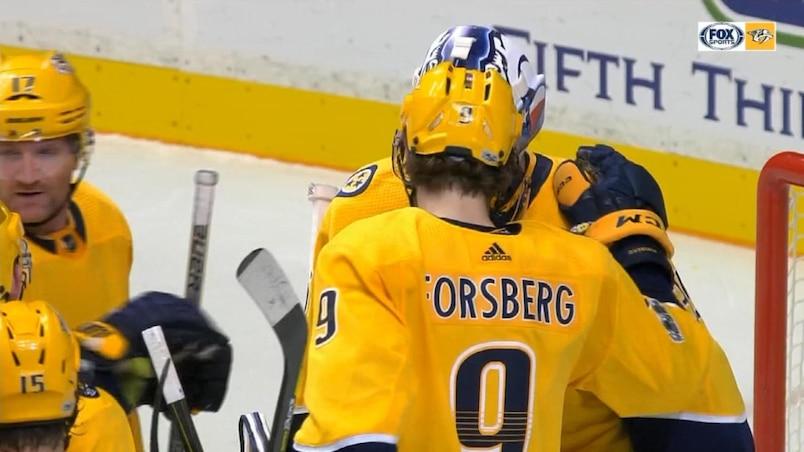 Les Predators remportent un festival offensif face aux Flyers