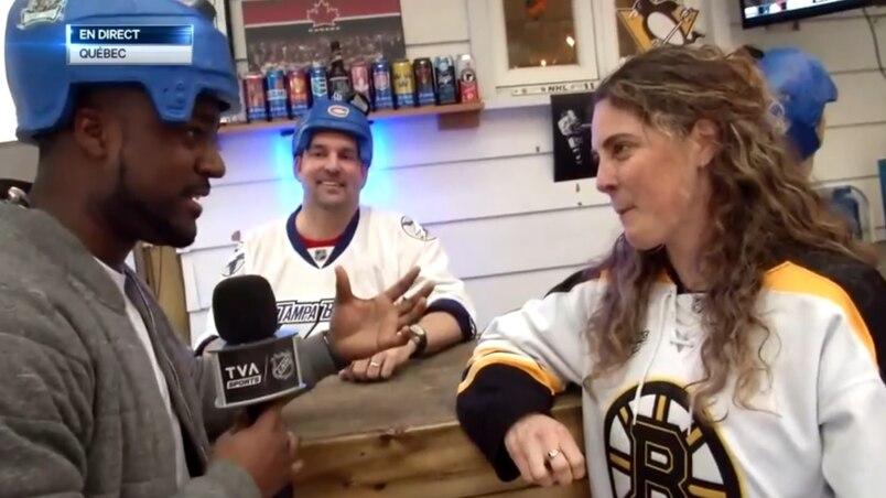 Moitié Bruins, moitié Lightning, mais 100% hockey