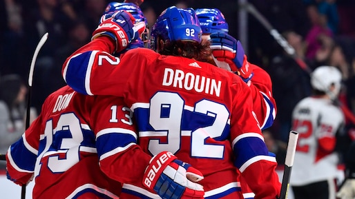 Les Canadiens fouettés par l'arbitre
