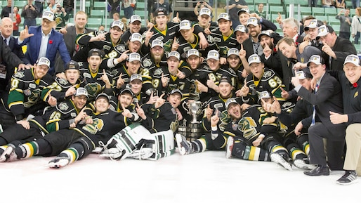 Les Knights remportent la Coupe Memorial!