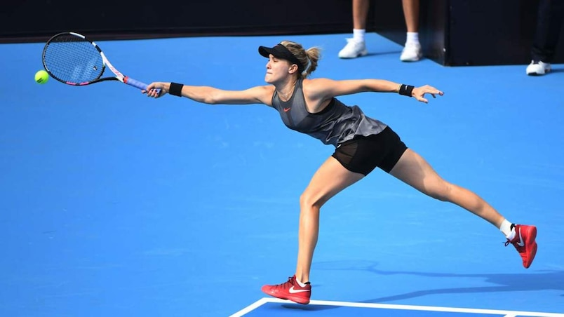 Hong Kong: Eugenie Bouchard et Shelby Rogers s'inclinent en double