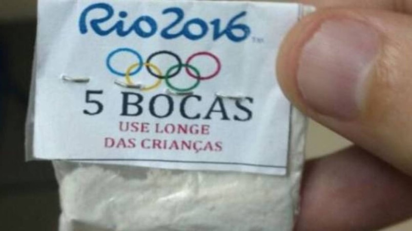 De la cocaïne... aux couleurs olympiques
