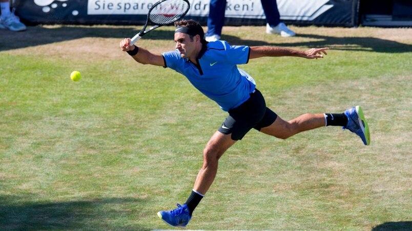 Roger Federer peaufine à Halle sa préparation pour Wimbledon