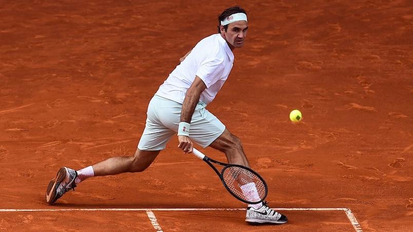 Roger Federer plie l'échine à Madrid