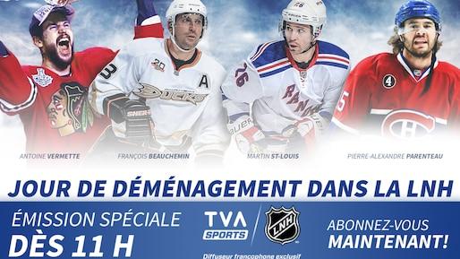 À TVA Sports : émission spéciale!