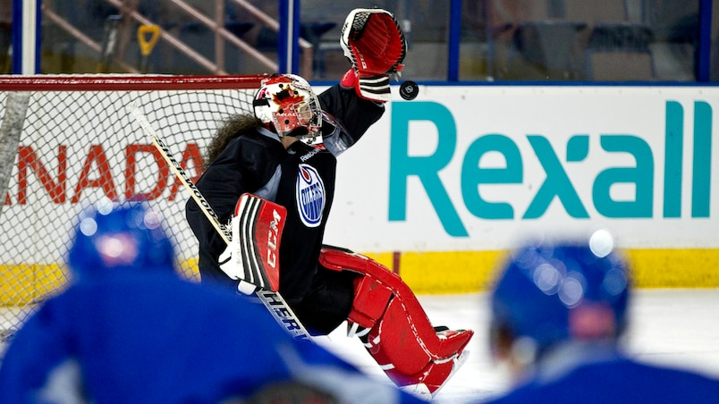 Team Canada goaltender Shannon Szabados Edmonton Sun Pictures of the Week March 1 to 7, 2014