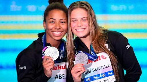 Jennifer Abel et Mélissa Citrini-Beaulieu s'en vont aux J.O.!
