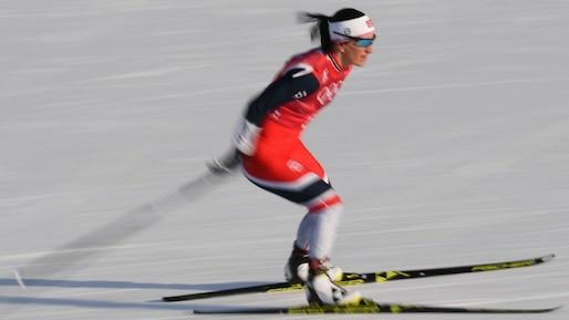 Olympiques: Marit Björgen établit un nouveau record