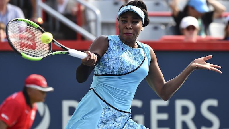 Coupe Rogers: Venus Williams est toujours aussi affamée