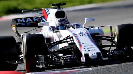 F1: Lance Stroll connaît une bonne journée