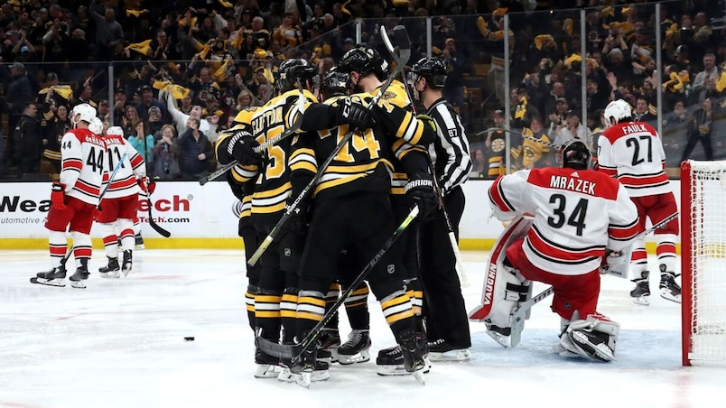 Carolina Hurricanes v Boston Bruins - Game Two