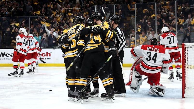Carolina Hurricanes v Boston Bruins - Game Two