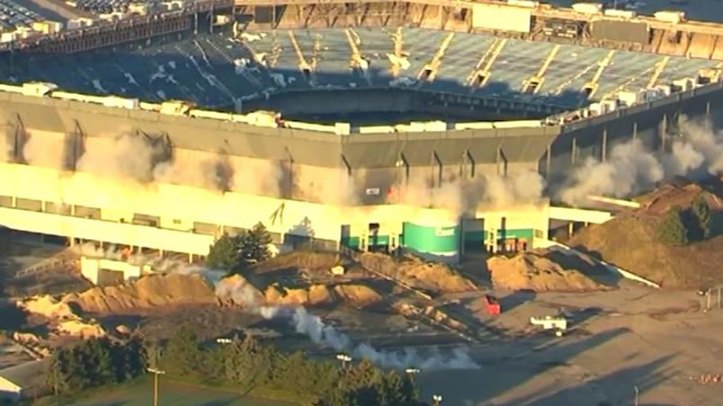 Implosion du Silverdome : Problème technique...