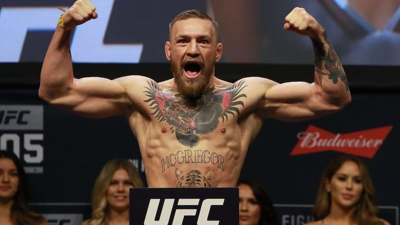 Conor McGregor sera dépouillé de son titre de l'UFC