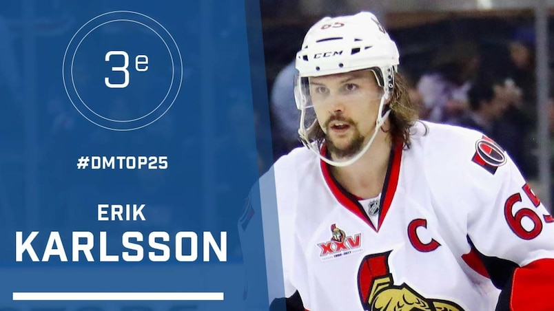 Le top 25 de la LNH: Erik Karlsson, #3