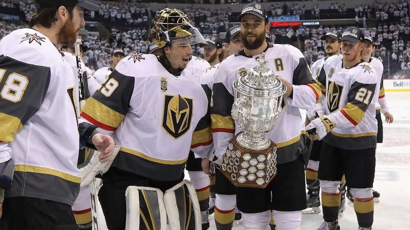 Les Golden Knights en finale de la Coupe Stanley