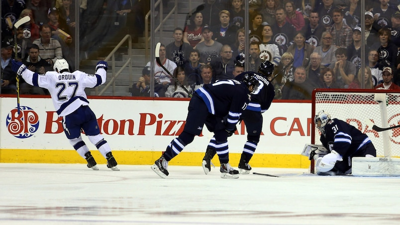 NHL: Tampa Bay Lightning at Winnipeg Jets