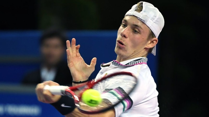 Denis Shapovalov s'incline à Marseille