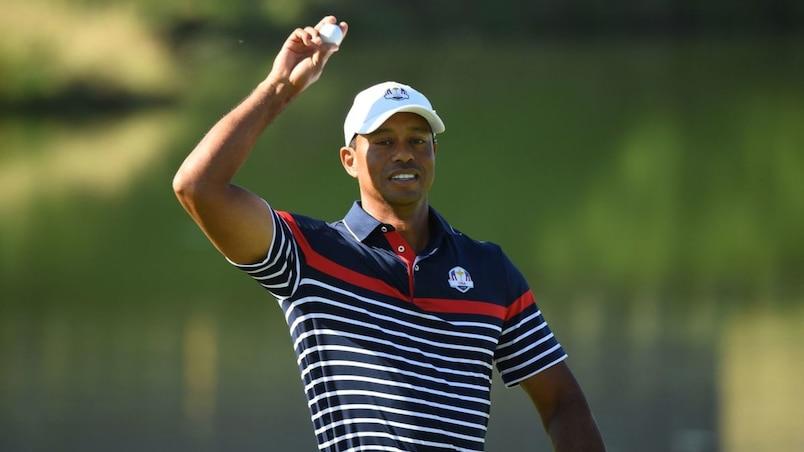 Coupe Ryder: Tiger Woods en compagnie de Patrick Reed