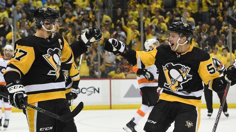 Les Penguins restent sur terre