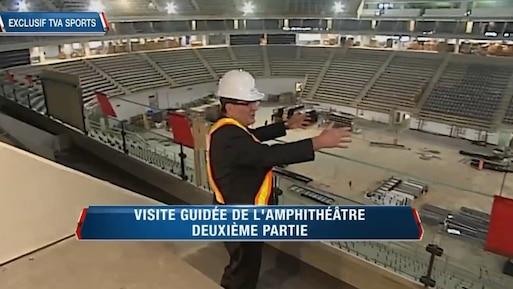 Visite de l'amphithéâtre, deuxième partie