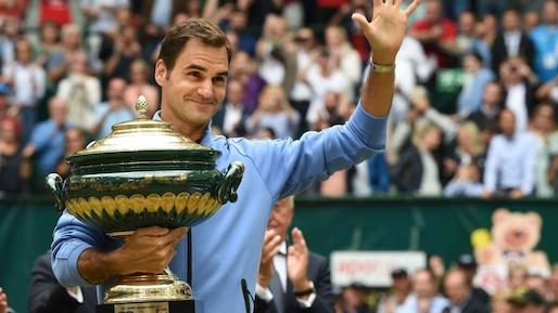 Un neuvième titre pour Roger Federer à Halle