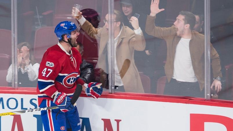Alexander Radulov donne de l'amour aux partisans de Montréal