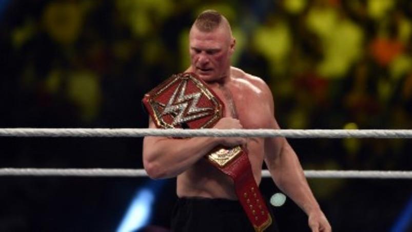 Brock Lesnar à la WWE au moins jusqu'à WrestleMania 35