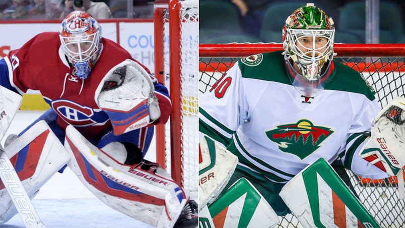 Devant le filet : Condon contre Dubnyk