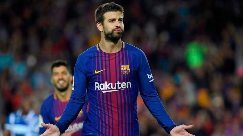 Gerard Piqué prolonge au FC Barcelone jusqu'en 2022
